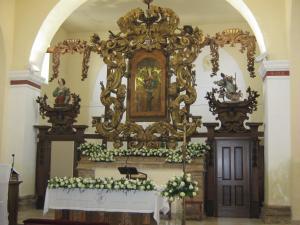 Altare ligneo Chiesa Madonna delll' Incoronata